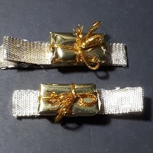 Other - Handmade Kiddie Clips - Gold Presents